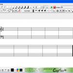 Capriccio ― Виртуальный нотный стан