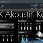 DSK AkoustiK KeyZ — Виртуальное пианино