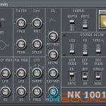 GTG NK 1001 — Бесплатный монофонический VSTi синтезатор (x32)