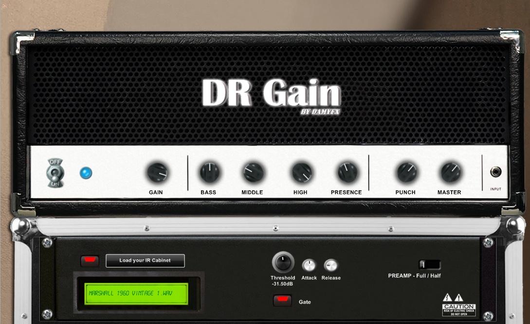 DamyFx DR Gain скриншот