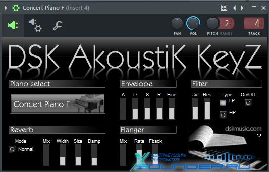DSK AkoustiK KeyZ