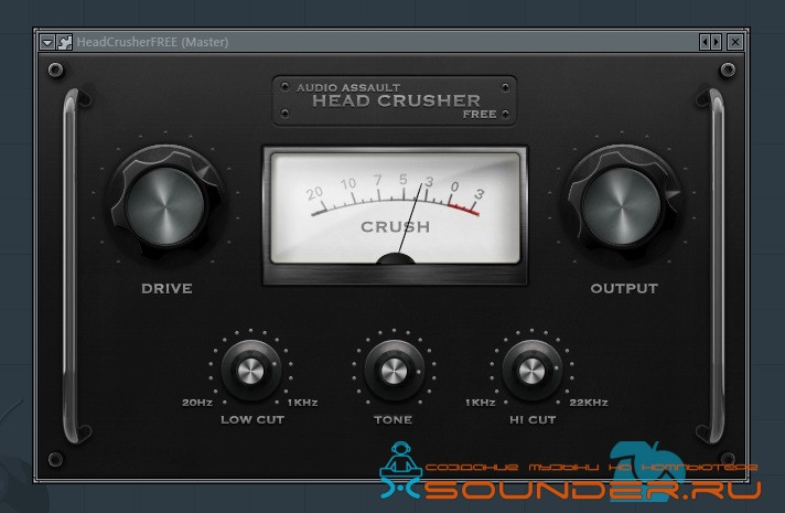vst сатуратор Head Crusher