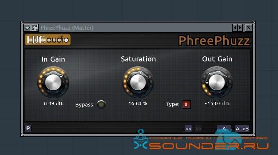 PhreePhuzz насыщение звука