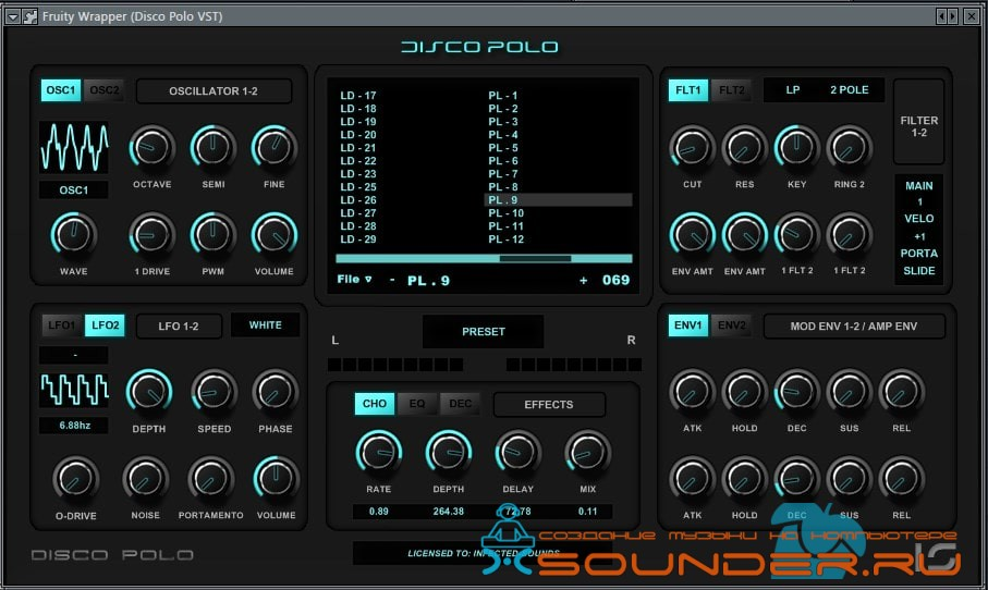 Infected Sounds Disco Polo VST