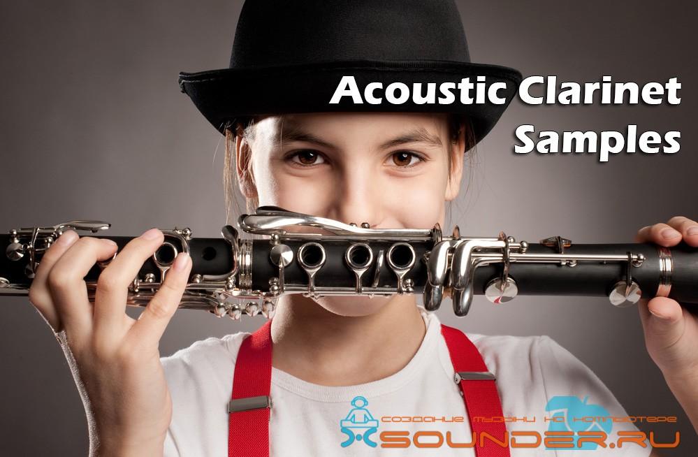 Acoustic Clarinet Samples сэмплы кларнета wav