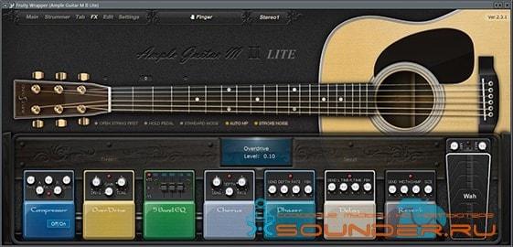 Ample Guitar M Lite II плагин гитары