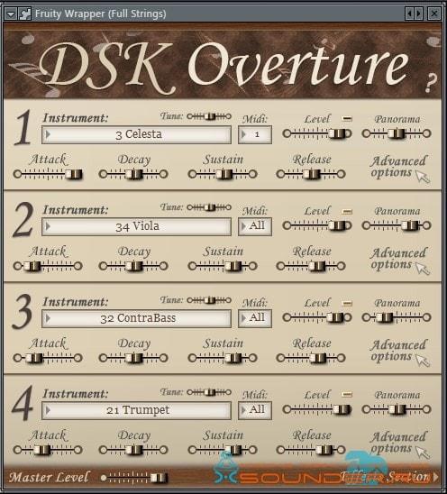 Overture VST оркестр
