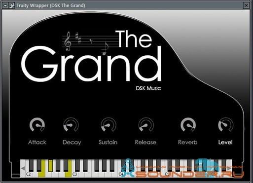 Grand Piano синтезатор