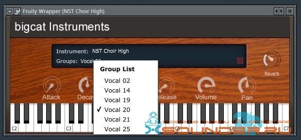 NST Vocal синтезатор хора