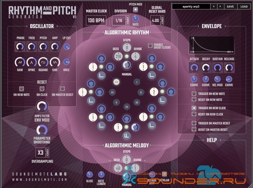 Free Rhythm And Pitch Generator
