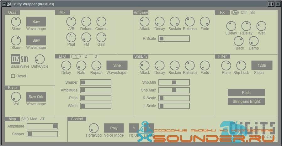 синтезатор искажений