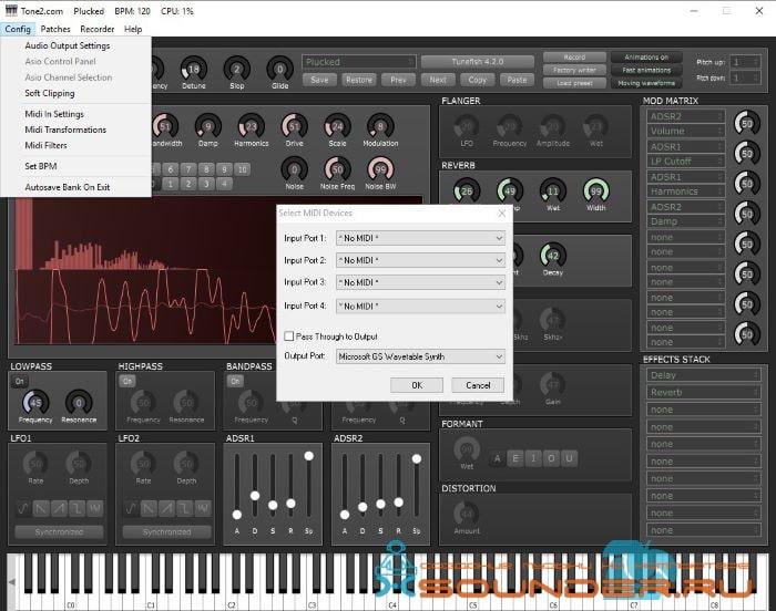 Screenshot NanoHost