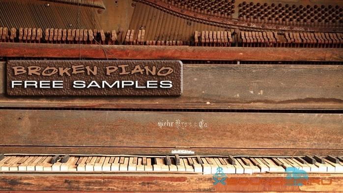 Сломанное пианино звуки