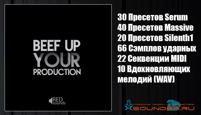 Beef Up Your Production сэмплы