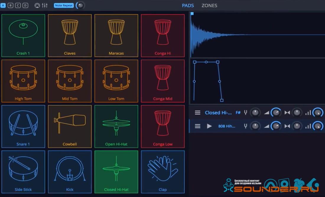 feature drum sampler