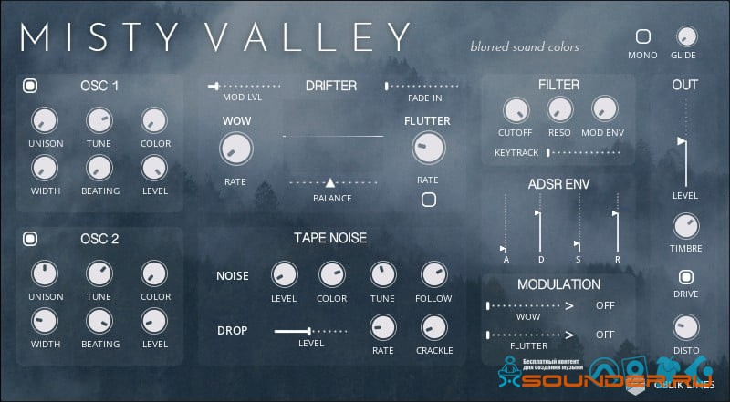 misty valley для NI Reaktor