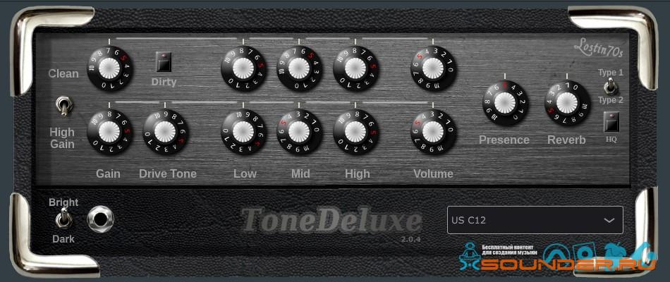 tone delux 2 amp