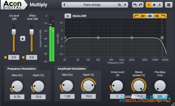 miltiply chorus effect